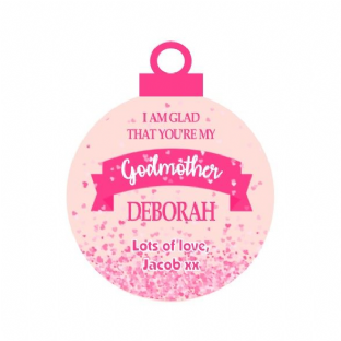 Godmother Acrylic Christmas Ornament Decoration